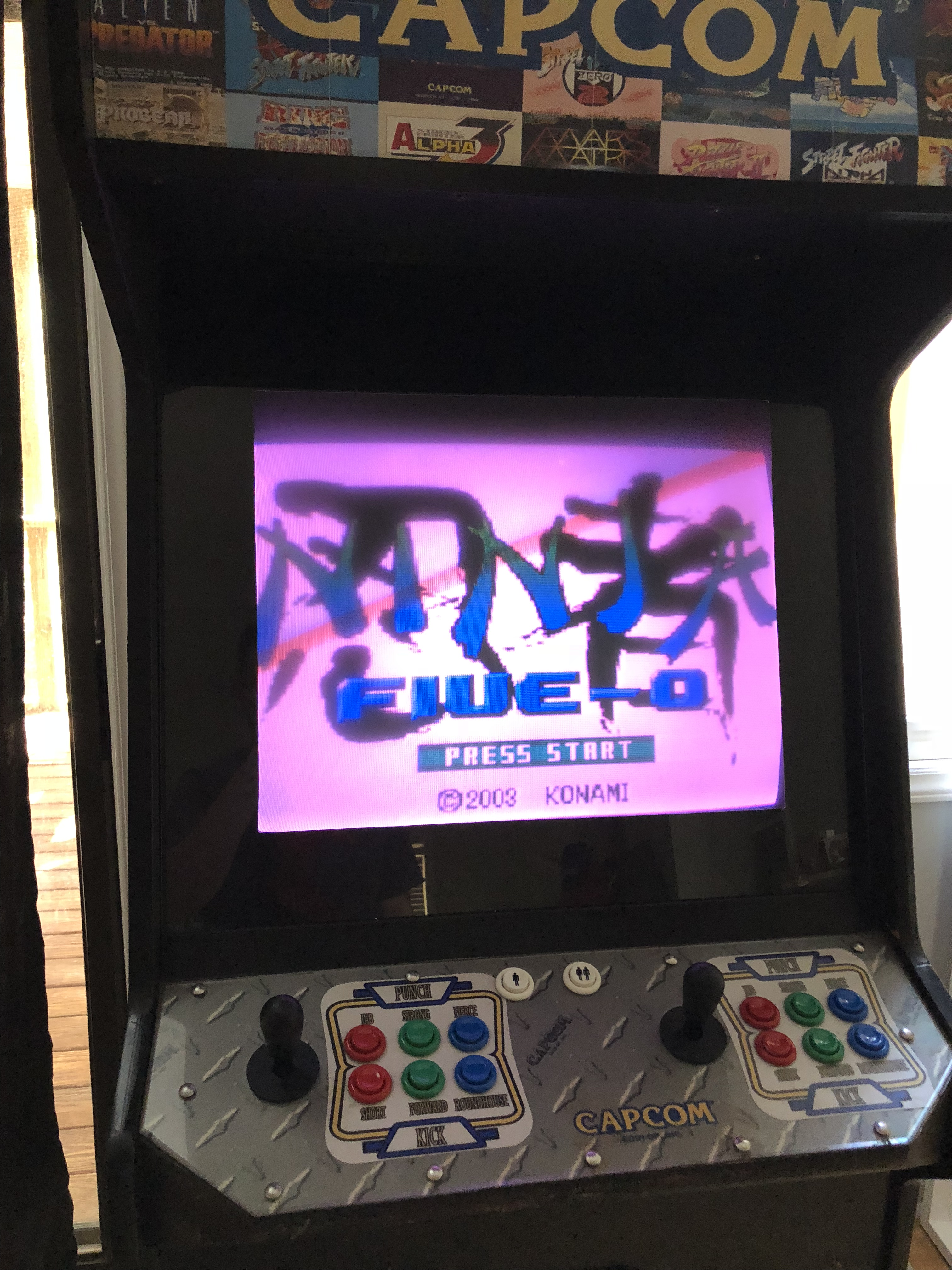 Converting A Jamma Arcade Cabinet For Mame Etc